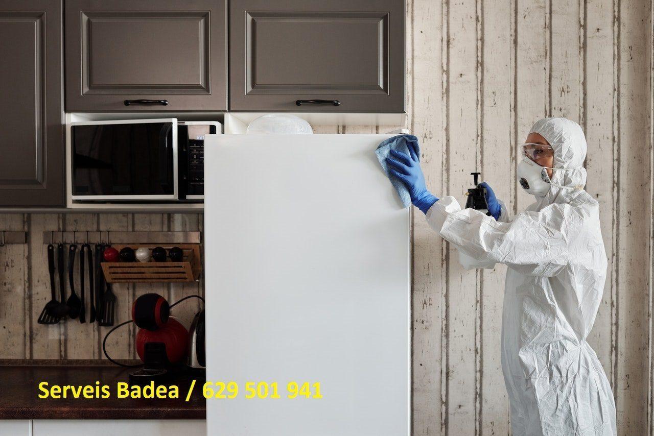 Vaciado y limpieza de pisos en Sant Cugat del Vallès