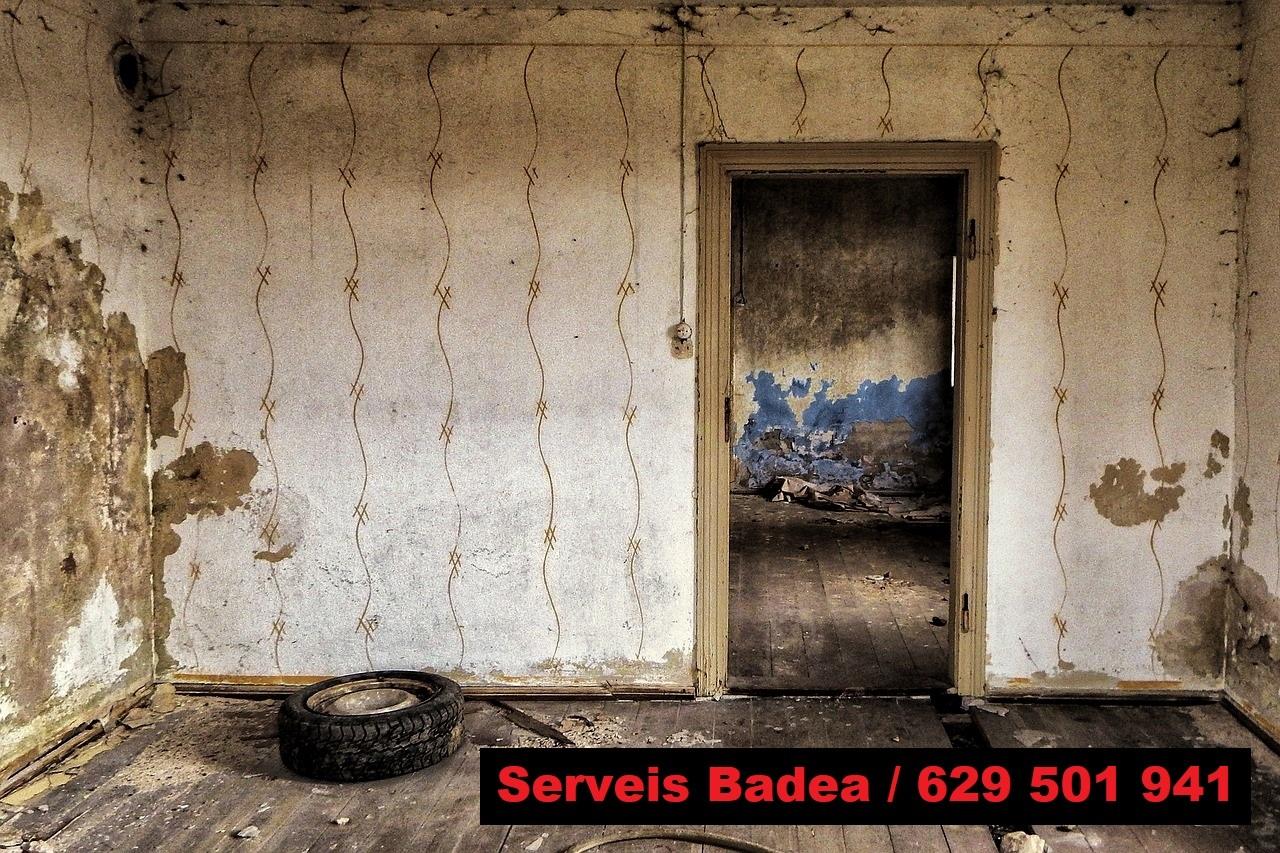 Vaciado de pisos en El Vendrell