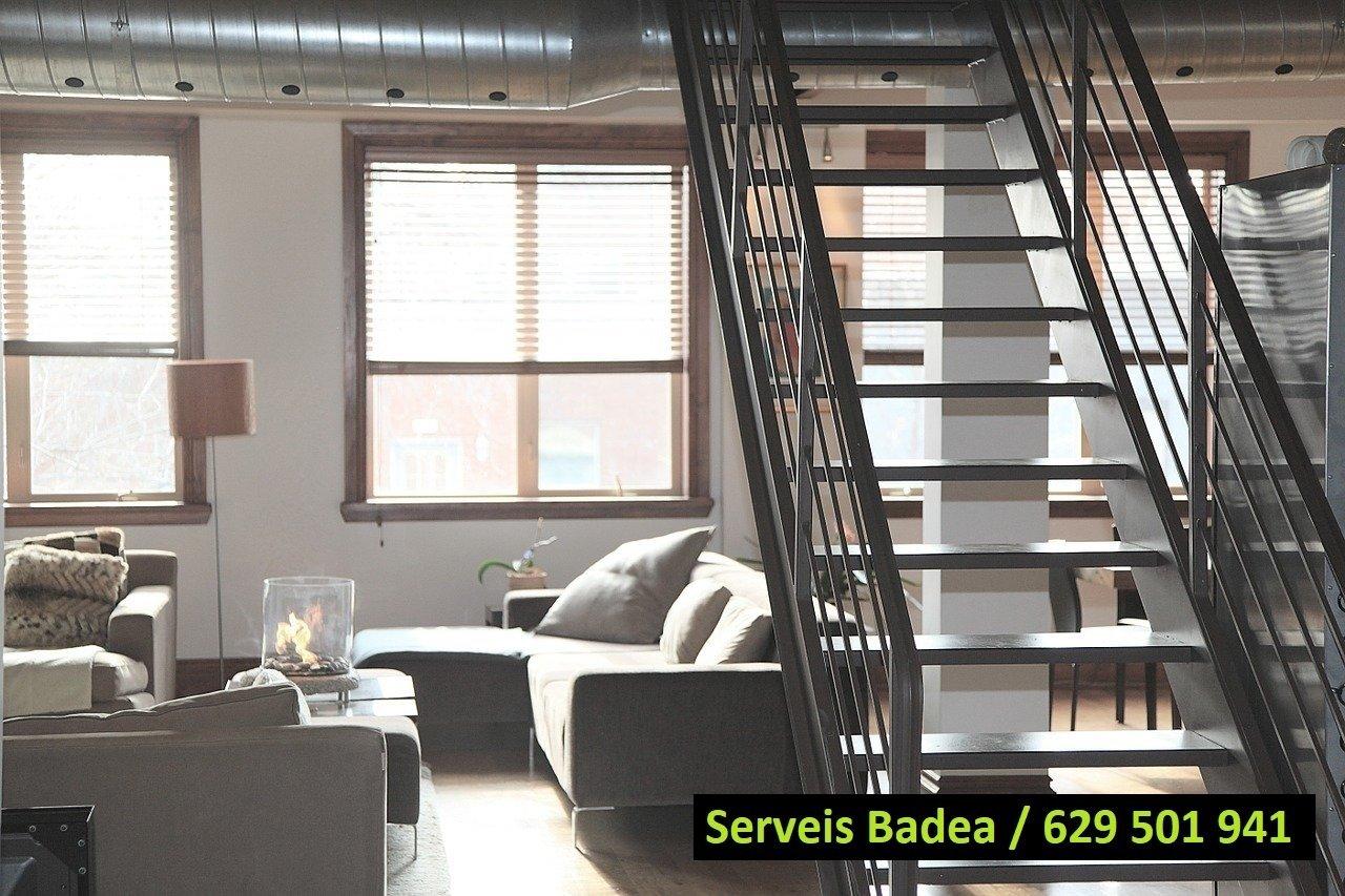 Vaciado de pisos y locales en Argentona