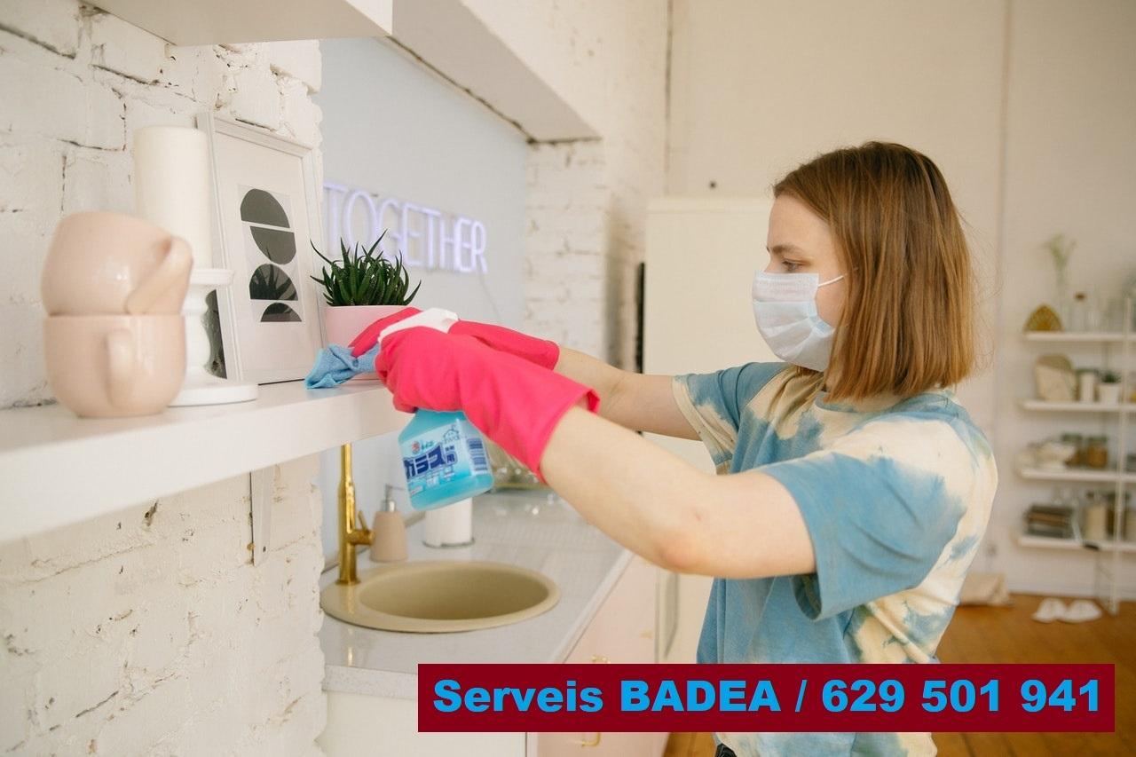 Vaciado y limpieza de pisos en Olot