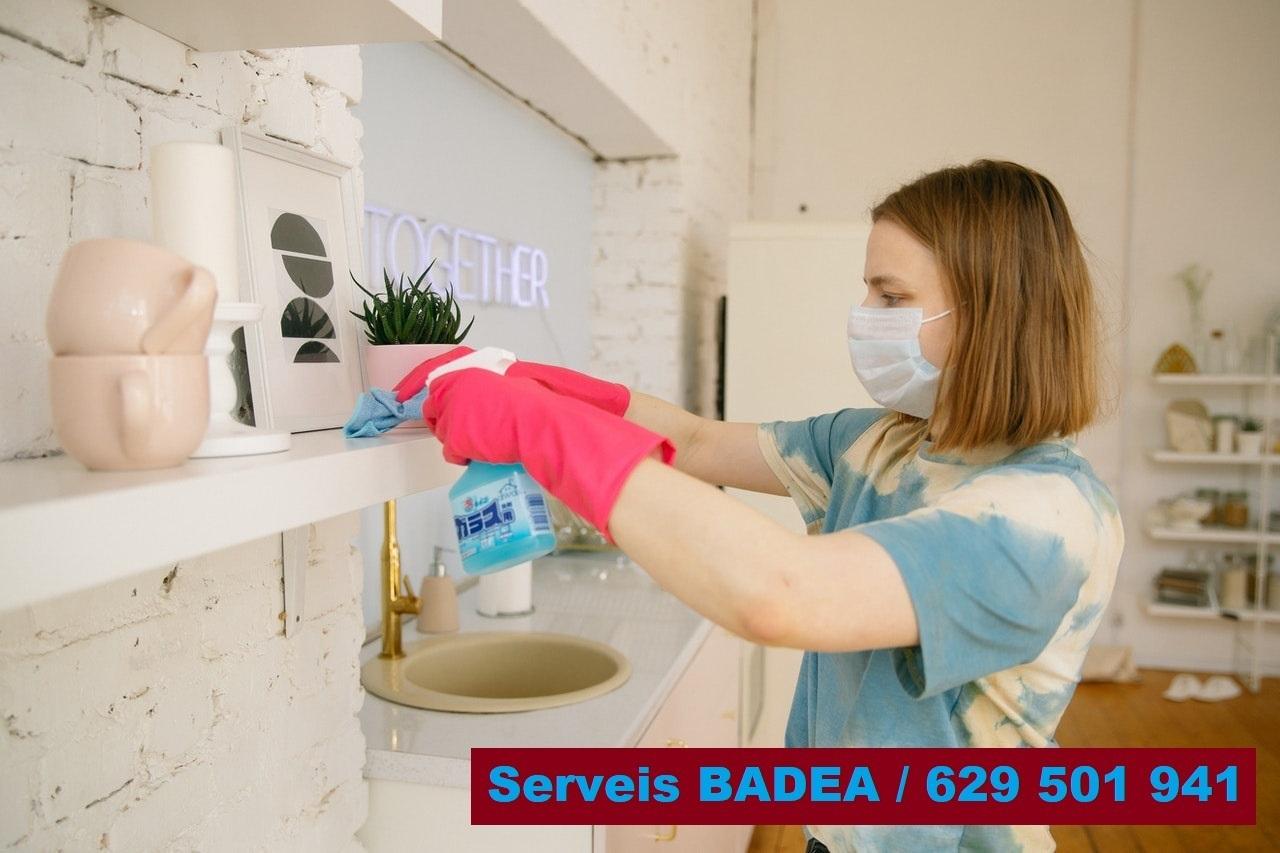 Vaciado y limpieza de pisos en Vilafranca del Penedès