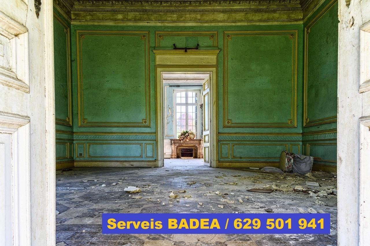 Vaciado de pisos y locales en Figueres