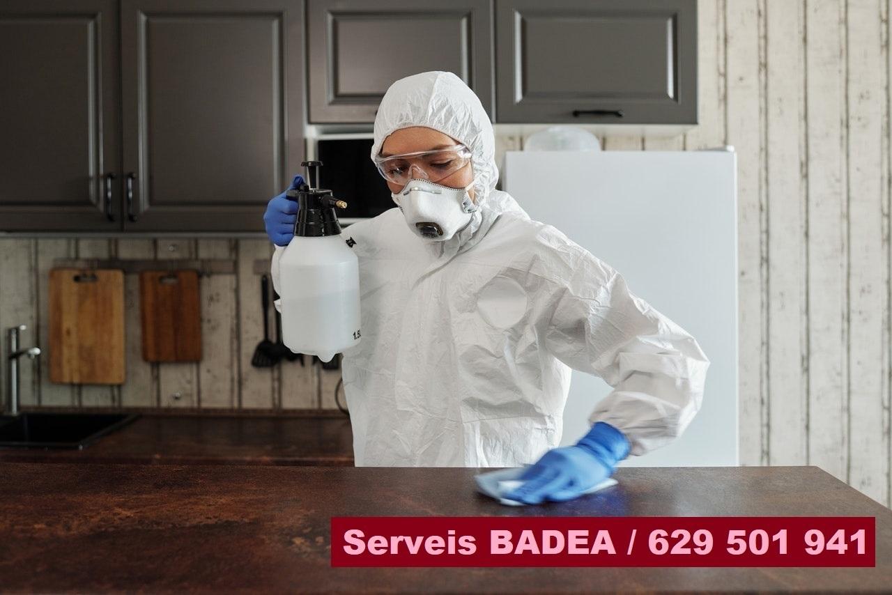 Vaciado y limpieza de pisos en Girona