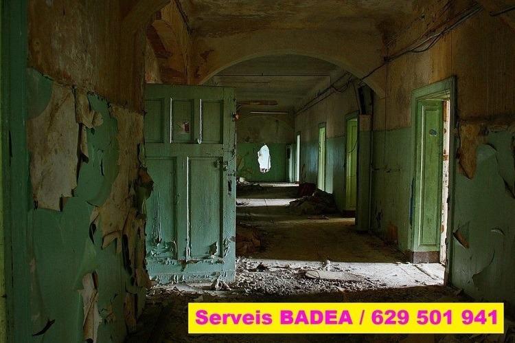 Vaciado y limpieza de pisos en Banyoles