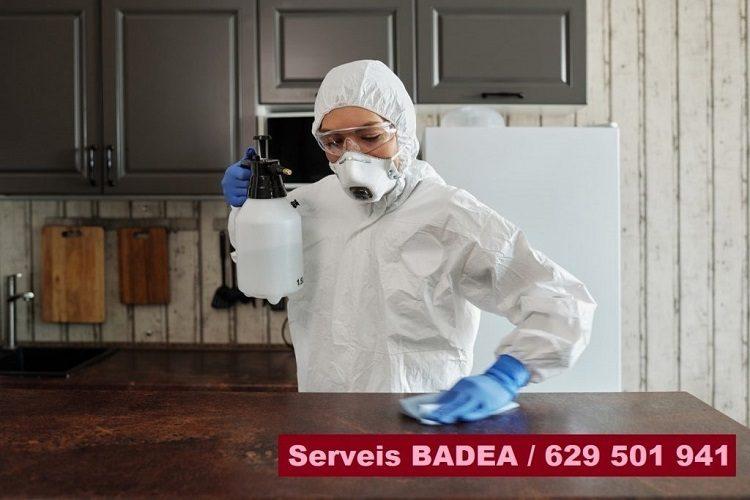 Vaciado y limpieza de pisos en Sant Pere de Ribes